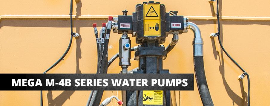 Mega M-4B Series Water Pumps