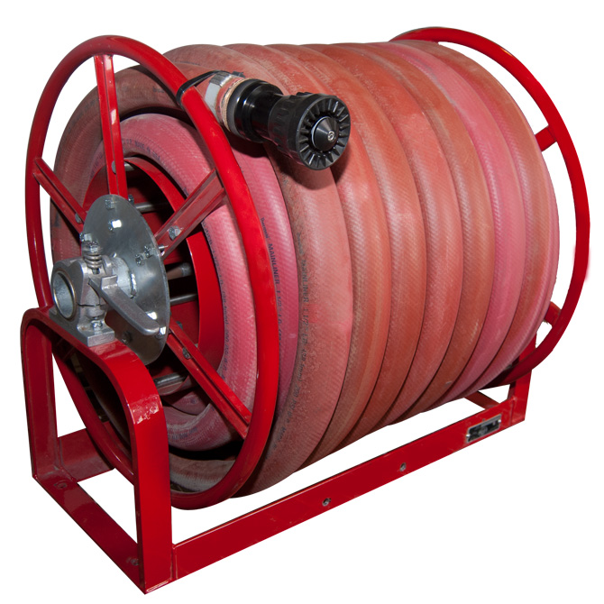 Hose Reel Assembly 1-1/2 in. Hose x 100 feet Rim Wind  sc 1 st  MEGA Corp. Inc. - haulage products for construction and mining & MEGA Corp. Inc. - haulage products for construction and mining