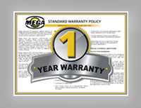 Mega Provides A One-Year Warranty